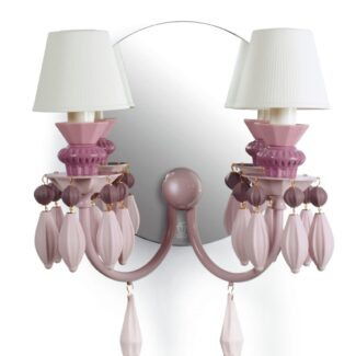 Sconce. Pink