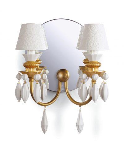 Sconce. Golden Luster
