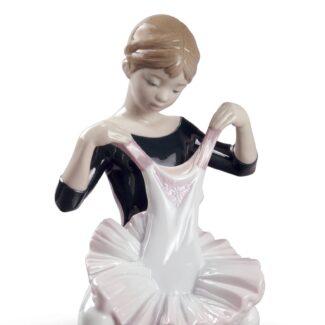 My Debut Dress Ballet Girl Figurine
