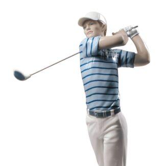 Golf Champion Man